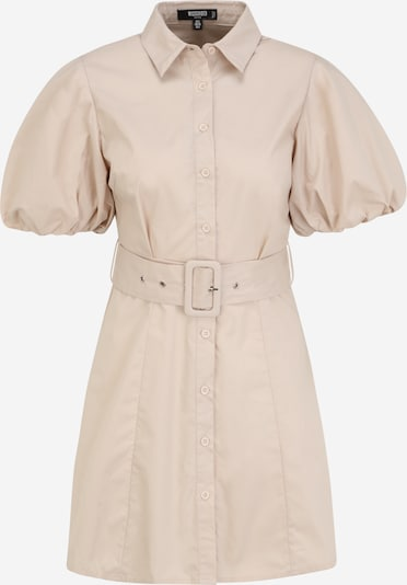 Rochie tip bluză Missguided Petite pe bej, Vizualizare produs