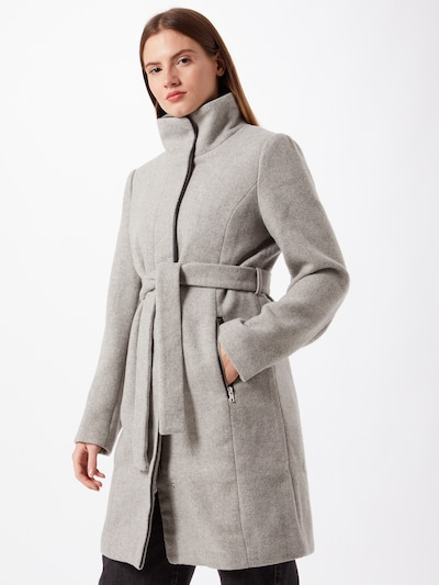 ABOUT YOU Between-seasons coat 'Thea' in grey mottled, View model