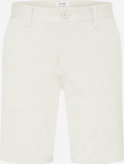 Only & Sons Pantalon chino en ivoire, Vue avec produit