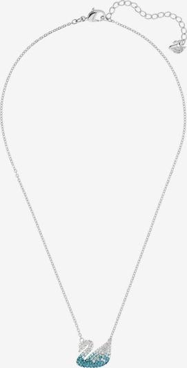 Swarovski Kette 'Iconic Swan' in türkis / silber, Produktansicht