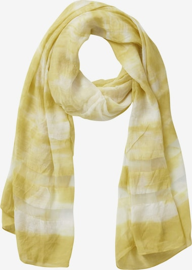 Cartoon Schal in gelb, Produktansicht