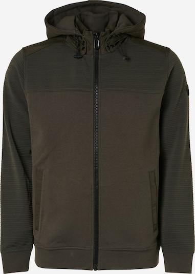 No Excess Sweatjacke in khaki / dunkelgrün, Produktansicht