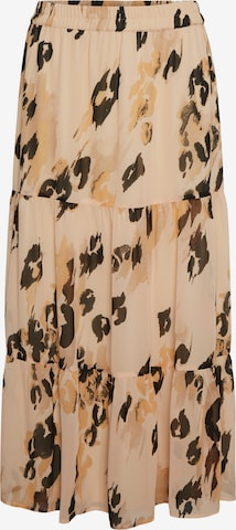 VERO MODA Skirt 'SASHA' in Brown