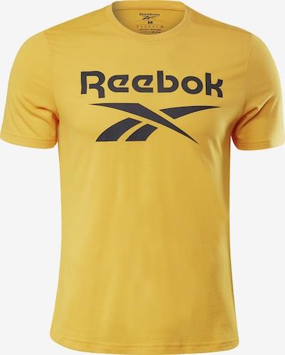 Reebok Sport Functioneel shirt 'Workout Ready Supremium Graphic' in de kleur Goud, Productweergave