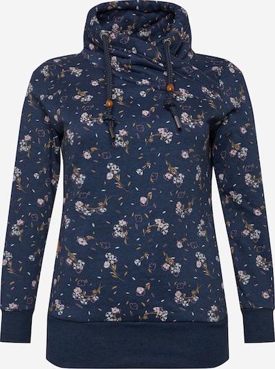 Megztinis be užsegimo 'NESKA' iš Ragwear Plus , spalva - tamsiai mėlyna / mišrios spalvos, Prekių apžvalga