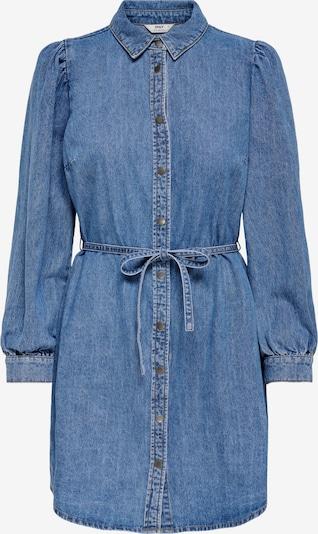 ONLY Robe-chemise en bleu denim, Vue avec produit