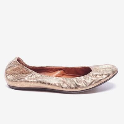 Lanvin Ballerinas in 35 in gold, Produktansicht