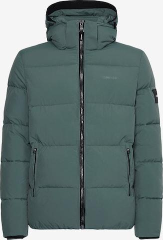 Calvin Klein Winter Jacket in Green