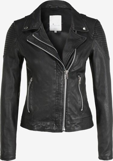 Goosecraft Lederjacke 'Aaliyah Biker' in schwarz, Produktansicht