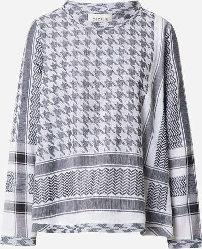 Cecilie Copenhagen Bluse in schwarz / weiß, Produktansicht