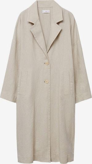 MANGO Mantel 'Stripes' in beige, Produktansicht