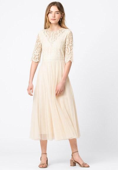 HALLHUBER Kleid in ecru, Modelansicht
