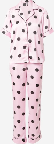PIECES Pajama 'ANDREA' in Pink