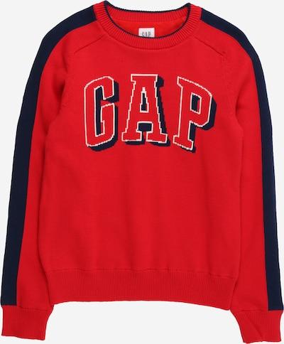 Pullover 'COZY' GAP di colore navy / rosso / bianco, Visualizzazione prodotti