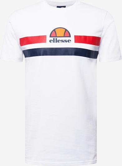 ELLESSE Majica 'Aprela' u morsko plava / narančasta / svijetlocrvena / bijela, Pregled proizvoda