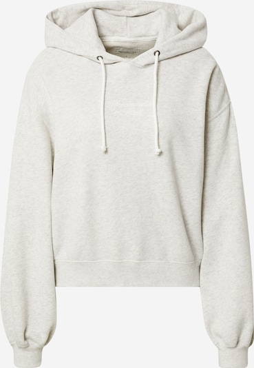 Abercrombie & Fitch Sweat-shirt en gris clair, Vue avec produit