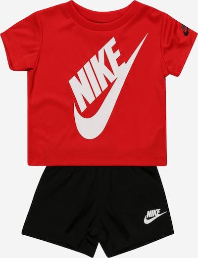 Nike Sportswear Conjunto 'FUTURA' en rojo / negro / blanco, Vista del producto