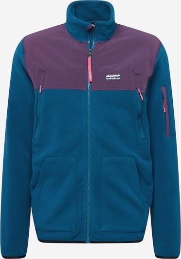 QUIKSILVER Funkčná flisová bunda - modrofialová / černicová, Produkt