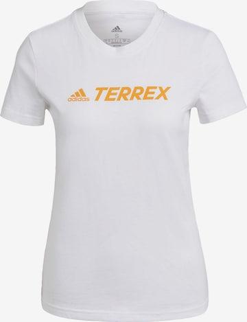 adidas Terrex Performance Shirt in White