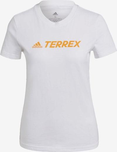 adidas Terrex Performance Shirt in Orange / White, Item view