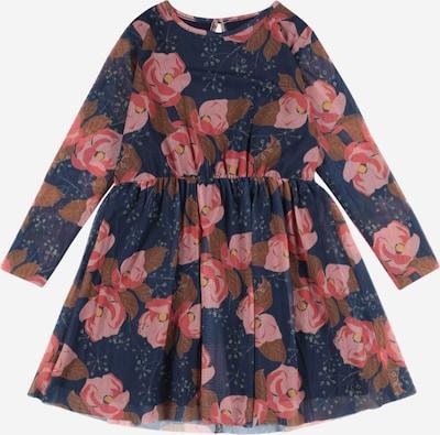The New Robe 'ANNA VALENTINA' en bleu foncé / marron / jaune / rosé / rose ancienne, Vue avec produit