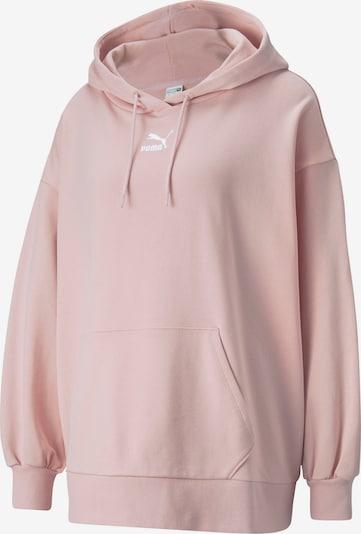 PUMA Sweatshirt in rosa / weiß, Produktansicht