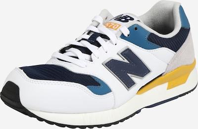 new balance Sneaker in navy / gelb / offwhite, Produktansicht