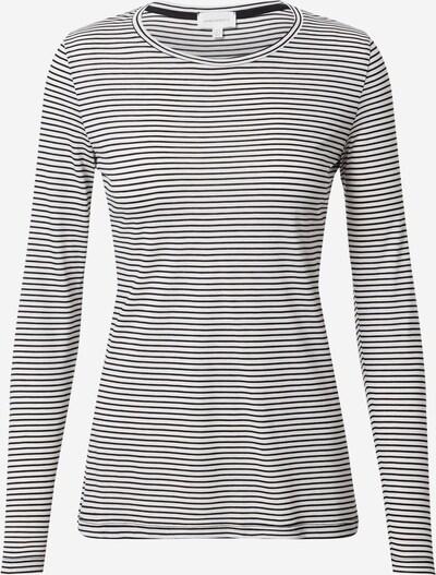 ARMEDANGELS Shirt 'LARENAA' in schwarz / weiß, Produktansicht