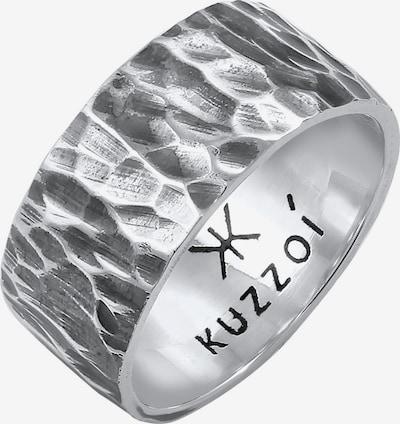 KUZZOI Ring in de kleur Zilver, Productweergave