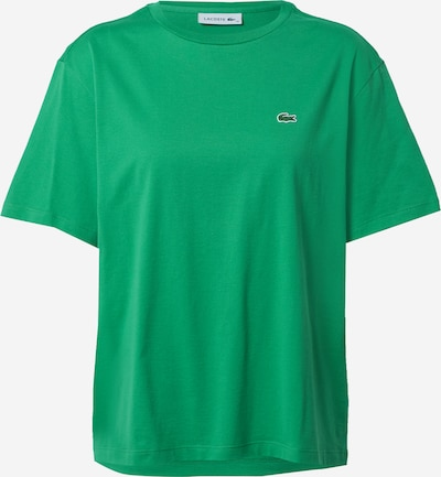 Tricou LACOSTE pe verde, Vizualizare produs
