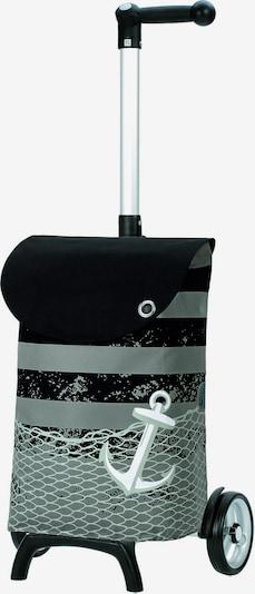 Andersen Shopper EInkaufstrolley 'Unus Shopper Fun Meer' 58 cm in oliv / schwarz, Produktansicht