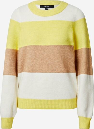 Megztinis 'Abbia' iš VERO MODA , spalva - ruda / geltona / balta, Prekių apžvalga