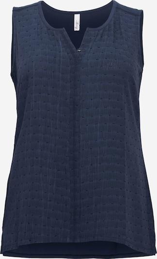 Bluză SHEEGO pe albastru marin, Vizualizare produs