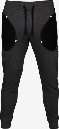 MOROTAI Sporthose 'California' in graumeliert / schwarz / weiß, Produktansicht