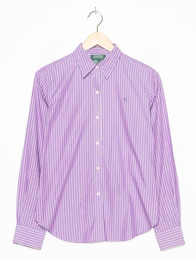 RALPH LAUREN Bluse in L in lila, Produktansicht