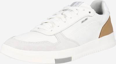 GEOX Zemie brīvā laika apavi 'SEGNALE', krāsa - brūns / gaiši pelēks / balts, Preces skats