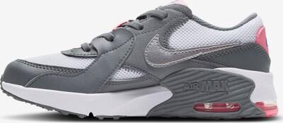 Nike Sportswear Sneaker in grau / silbergrau / rot / weiß, Produktansicht