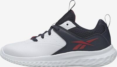 Reebok Sport Sportschuh 'Rush Runner 4' in navy / dunkelrot / weiß, Produktansicht