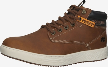 Dockers by Gerli High-Top Sneakers in Brown