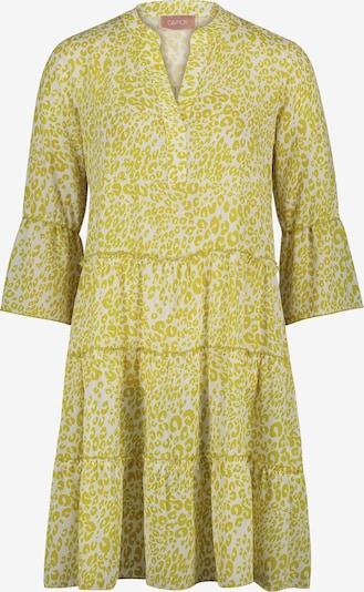 Cartoon Kleid in gelb / weiß, Produktansicht