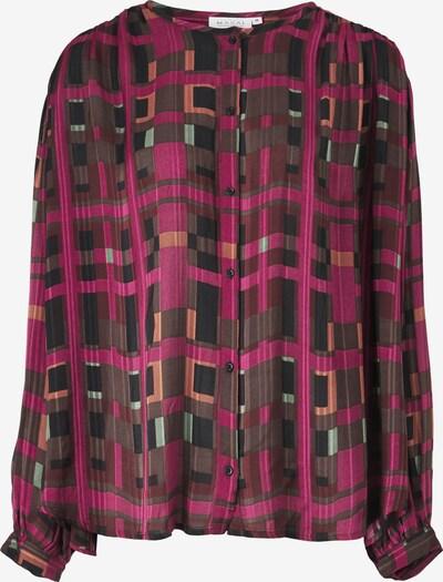 Masai Blouse in de kleur Bruin / Lila / Oudroze, Productweergave