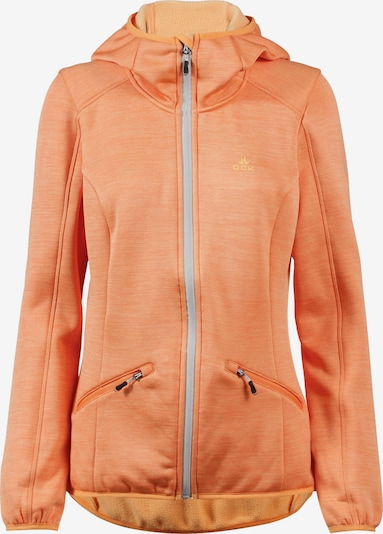 OCK Funktionsfleecejacke in orange, Produktansicht