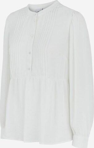 MAMALICIOUS Blouse 'Amina' in White
