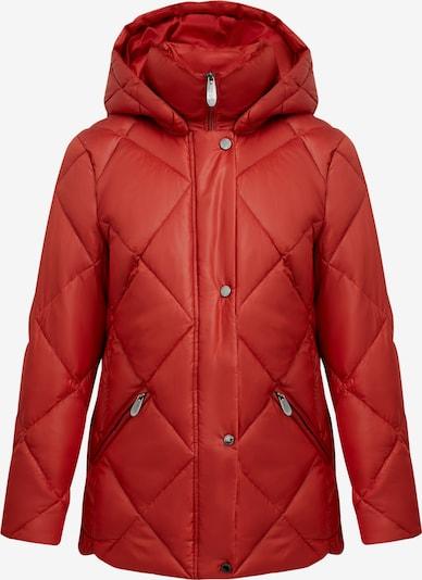 Finn Flare Tussenjas in de kleur Bruin / Rood, Productweergave