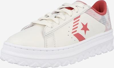 Sneaker low CONVERSE pe roșu deschis / alb, Vizualizare produs