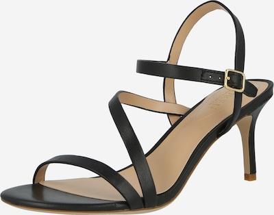 Sandale cu baretă 'LANDYN' Lauren Ralph Lauren pe negru, Vizualizare produs