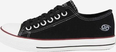 Dockers Sneakers in schwarz: Frontalansicht