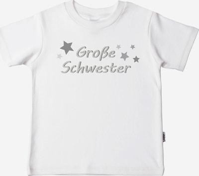LILIPUT T-Shirt mit coolem 'Große Schwester'-Print in weiß, Produktansicht