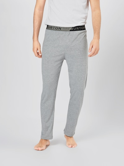BURTON MENSWEAR LONDON Joggers in grau: Frontalansicht