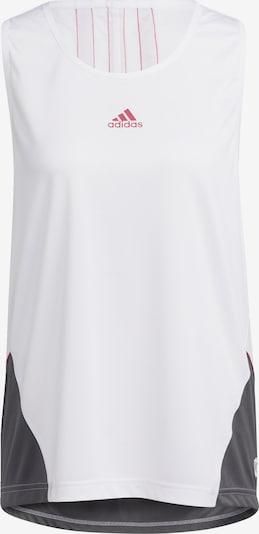 ADIDAS PERFORMANCE Športni top | rdeča / črna / bela barva, Prikaz izdelka